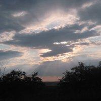 Крымское небо перед дождем :: Маера Урусова