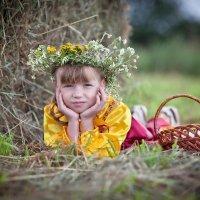 Летом в деревне. :: Анна Тихомирова