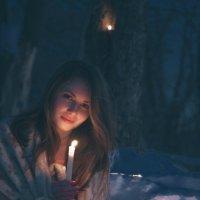 девушка со свечой :: Diakonov Maxim