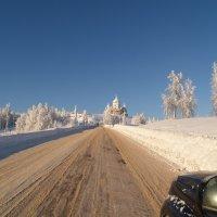 Дорога к храму :: Валерий Струк