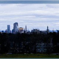 Хартфорд - вид со смотровой площадки городского парка :: Яков Геллер