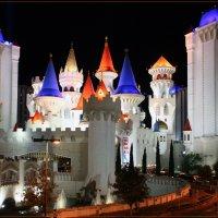 Лас Вегас, Excalibur - гостинница и казино :: Яков Геллер
