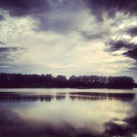 Побережье озера .... :: Ирина Барна