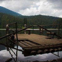 Озеро Синевир,Карпаты. :: Konstantin Ivanov