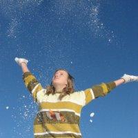 Под снежным вихрем :: Алёна Зимина