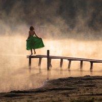 Танец над водой :: Александр Сергеев