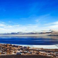 Байкал и не думает замерзать. Слюдянка, Иркутская область :: Сергей Алексеев