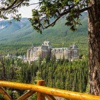 Отель Fairmont Banff Springs :: Константин Шабалин