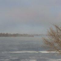Туманное утро на Днепре :: Александр