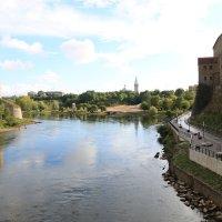 река Нарва :: Андрей Кулаков