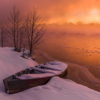 Морозное утро. :: Андрей Олонцев