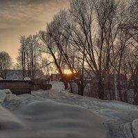 Зимний вечер в Юраково :: Владимир Макаров