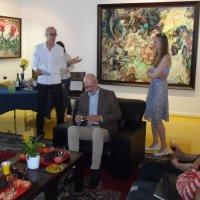 На выставке работ Лавецкого :: Борис Соловьев