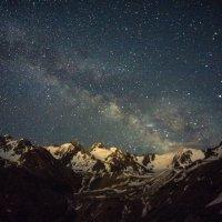 Млечный путь в Малоалматинском ущелье :: Bekzat Assylkhan