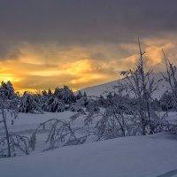 Закат в горах Крыма. Ай-Петри. :: Ольга