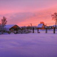 Розовый рассвет... :: Александр Никитинский