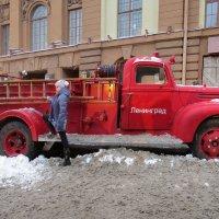 Пожарная машина :: Вера Щукина