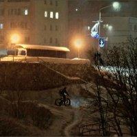 Припозднившийся велосипедист :: Кай-8 (Ярослав) Забелин