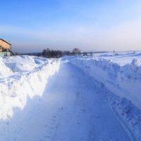 Зимняя дорога. :: Прима Игорь Кондратьевич