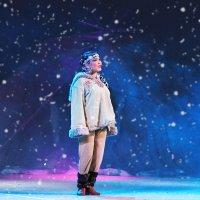 Снежный ковёр. Как оленям без ягеля? :: Виктор Никаноров