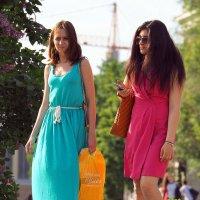 симпатичные подружки :: Олег Лукьянов