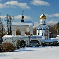 Зима в Николо-Угрешском :: Леонид Иванчук