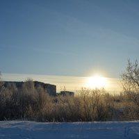 Солнечно в Северодвинске зимой! :: Михаил Поскотинов