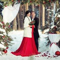 Свадьба зимой :: Марина Ильюшенко