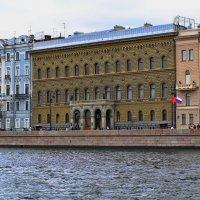Санкт-Петербург, река Нева, дом Ученых :: Владимир Ильич Батарин