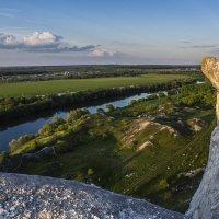 Летом на меловых холмах :: Юрий Клишин