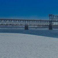 Мост через р. Днепр :: Александр