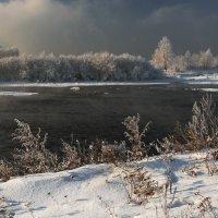 Чёрная,студёная в Ангаре вода... :: Александр Попов