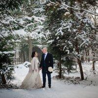 зимняя сказка .Тамерлан и Зарина :: Батик Табуев