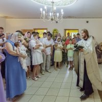 групповое крещение младенцев :: aqbar aqbar