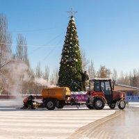 Обновляют лёд :: Павел Кореньков