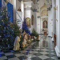 На Рождество в Соборе. :: Вахтанг Хантадзе