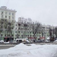 Город зимой. :: Ольга Кривых