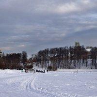 лыжня по царицинскому озеру :: Валентина. .