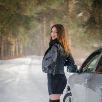 Лена и авто)) :: Андрей Мирошниченко