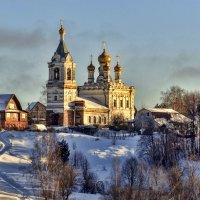 Стояла церковь на горе. Зима. :: Анатолий. Chesnavik.
