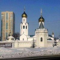 Храм в Новосибирске. :: Мила Бовкун