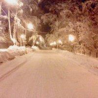 Ночь, улица, фонарь :: ВиктОр ИванОвич