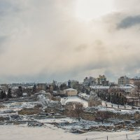 И падал снег... :: Nyusha