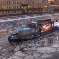 Зимний пароход :: Ирина Шарапова