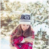 Морозко. Девушка в зимнем лесу. Фотограф Руслан Кокорев. :: Руслан Кокорев