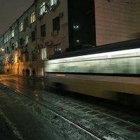 вечерний трамвай :: Тарас Золотько