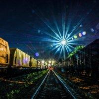 Прибытие поезда :: Евгений Лобанов
