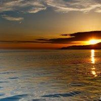 Морской закат!!! :: Олег Семенцов