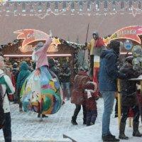 Ярмарка.Красная площадь в Москве.21.01.2017г :: Виталий Виницкий
