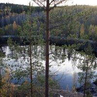 Горный парк Рускеала. Малый Мраморный карьер или озеро Монферрана. :: Елена Павлова (Смолова)